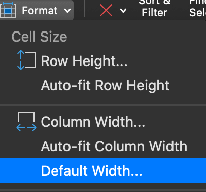 auto-fit row height and column width